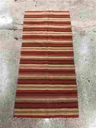 Striped Flatweave Rug, 5