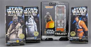 Star Wars Collector Action Figures, 4 PCS.