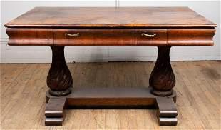 Renaissance Revival Carved Oak Refectory Table