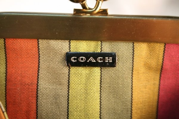 Bonnie Cashin Coach Leather Double-Pocketed Bag - 7