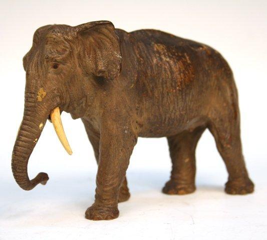 Vienna Bronze Elephant late 19th C. Orientalist