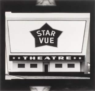 "Jim Dow ""Star Vue Theatre, 1973"" Photograph"