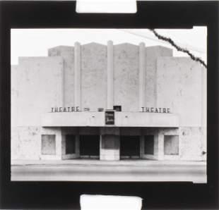 "Jim Dow ""Prince Theater, Florida, 1975"" Photograph"