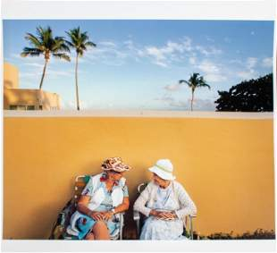 """Gay Block """"Women With Yellow Wall"""" Archival Print"""
