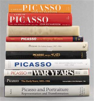 Books on Pablo Picasso, Group of 10