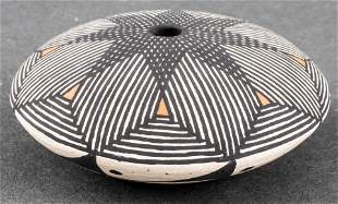B. Delarme Southwest Pottery Seed Pot, Acoma, NM