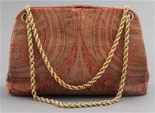 Paisley Fabric Handbag