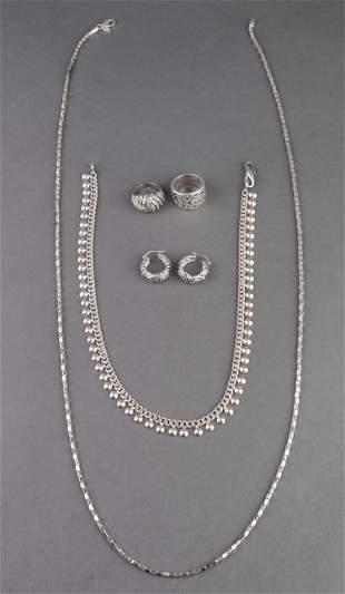 Joseph Esposito & Other Sterling Silver Jewelry, 5
