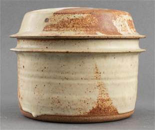 Signed American Art Pottery Dutch Oven