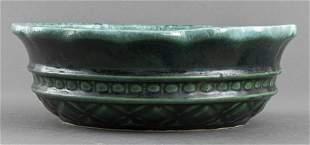 Hull American Majolica Pottery Bowl