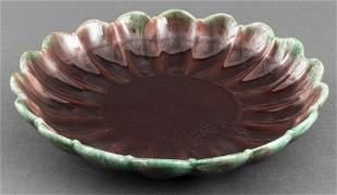 Haeger American Majolica Pottery Platter