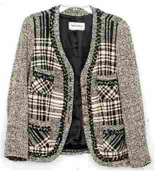 Weill Vintage Black & White Wool Blazer