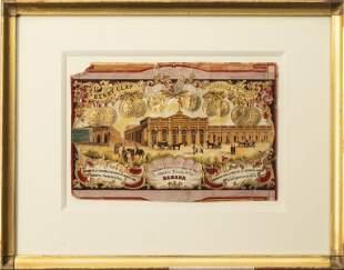 Henry Clay Brand Cigar Box Art Framed