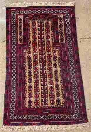 Turkish Prayer Rug, 4 x 2