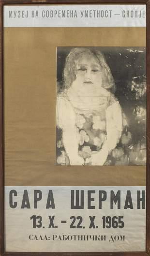 Sarai Sherman Slavic Language Exhibition Poster