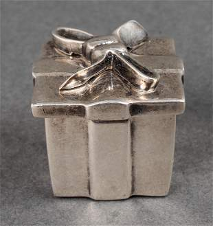 Tiffany and Co. Sterling Silver Pill Box
