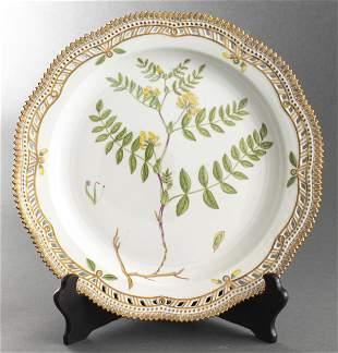 "Royal Copenhagen ""Flora Danica"" Round Platter"
