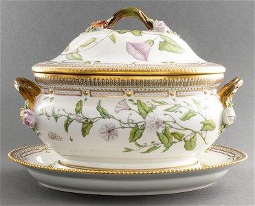 Royal Copenhagen Flora Danica Tureen & Underplate