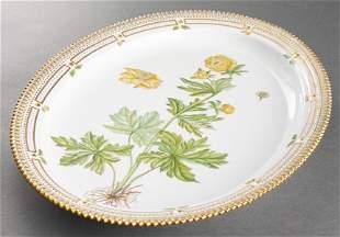 "Royal Copenhagen ""Flora Danica"" Oval Platter"