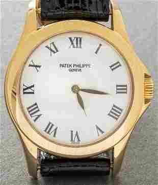 Patek Philippe Calatrava 18K Gold Wristwatch