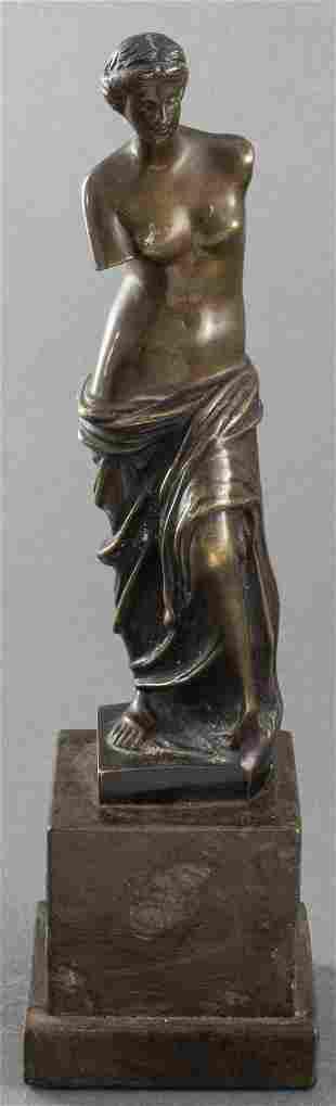 Grand Tour Bronze of Venus de Milo