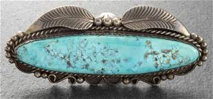 Navajo Sterling Silver & Turquoise Ring