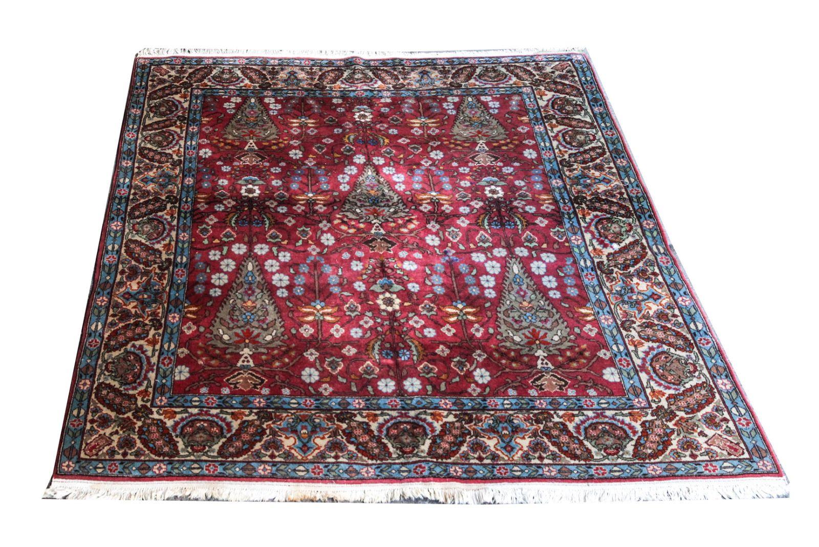 Persian Floral Rug 7' x 7'