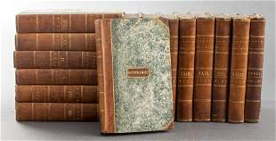The Annual Register, 15 Volumes, 18th C. Bindings
