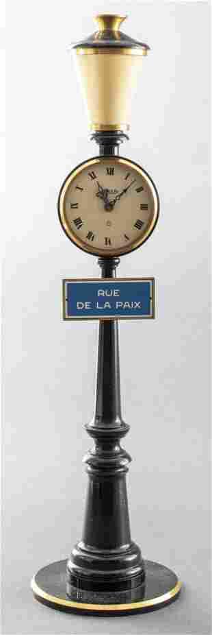 Jaeger LeCoultre Rue de la Paix Street Lamp Clock