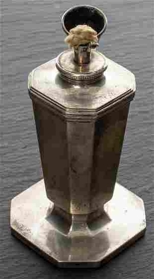 Tiffany & Co. Sterling Silver Miniature Oil Lamp