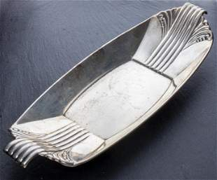 Reed & Barton Art Deco Silver Tray