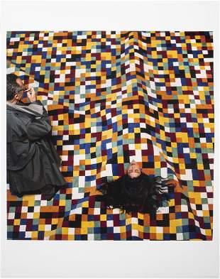 """Abe Frajndlich """"Gerhard Richter"""" C-Print, 1988"""