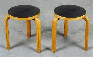 Alvar Aalto for Artek Modern Tables, Pair