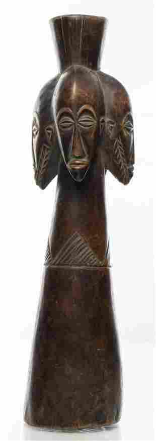 African Lega Wood Idol Figure, Dem. Rep. of Congo