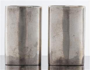 Antonio Pineda & Los Castillo Silver Salt & Pepper