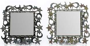 """Jay Strongwater """"Moon & Stars"""" Picture Frames, 2"""