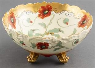 T&V Limoges France & Pickard Studio Porcelain Bowl