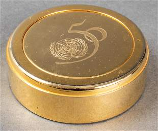 United Nations 50th Anniversary Paperweight