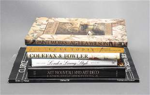 Group Of Books On Decorating And Dec. Arts, 6