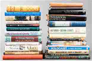 Group Of Books Including Poetry & Biographies, 25