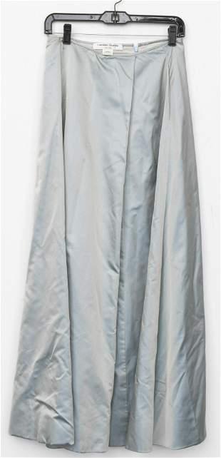 Carolina Herrera Silk A-Line Skirt