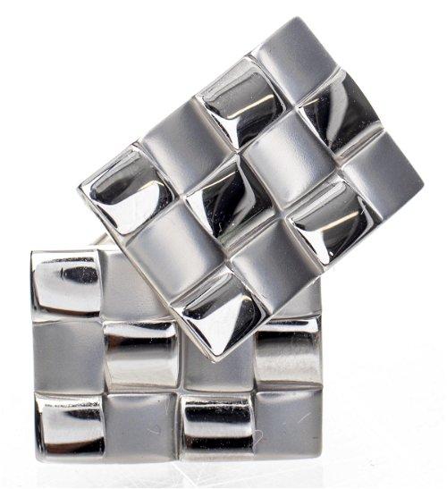 Sterling Silver Cufflinks, Tie Pins & Tie Clips