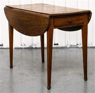 George III Provincial Style Pembroke Table