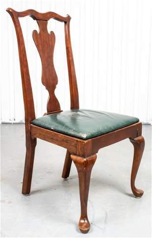 George III Style Mahogany Side Chair