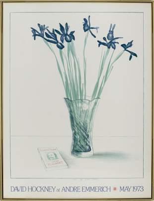 David Hockney Exhibition Poster