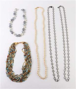 Kenneth Jay Lane Costume Necklaces, 5