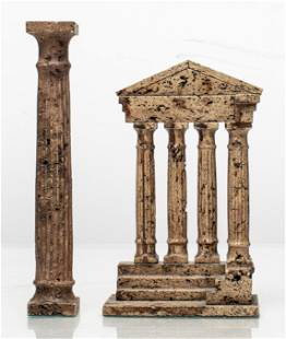 Grand Tour Temple Ruin Souvenirs, 2