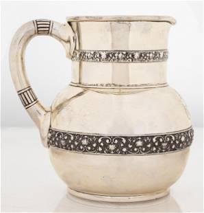 Tiffany & Co. Silver Shell & Scroll Pitcher