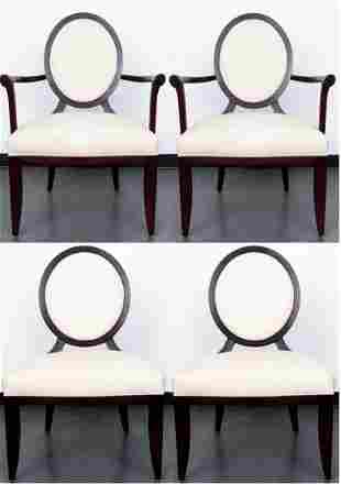 Barbara Barry for Baker Dining Chairs, Set of 4