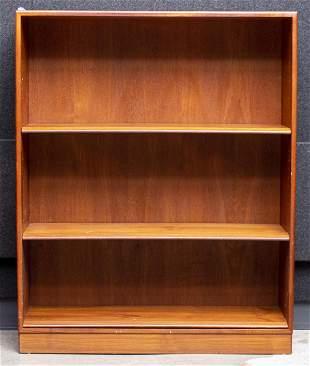 Soborg Mobler Danish Modern Teak Open Bookcase